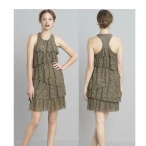 Banana Republic Heritage Collection Olive Dress